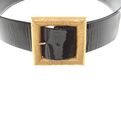Chanel Leather belt with pin buckle