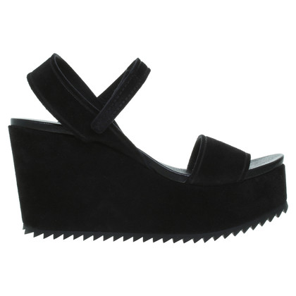 Pedro Garcia  Wedges in Schwarz