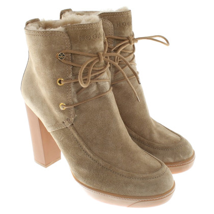 Hogan Ankle boots from suede