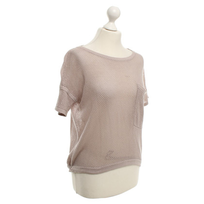 Whistles Top in Taupe