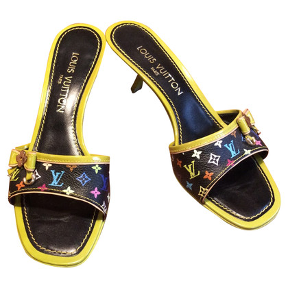 Louis Vuitton Mules from Monogram Multicolore Canvas