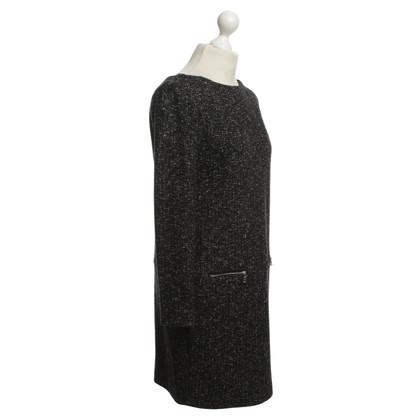 Bogner Dress in Black / White