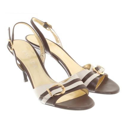 Escada Sandals in brown