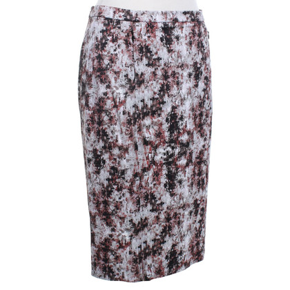 René Lezard skirt with print pattern