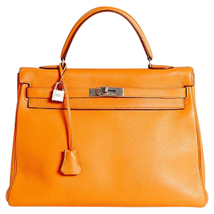 "Hermès ""Kelly Bag 35"" van Clemence Leather"