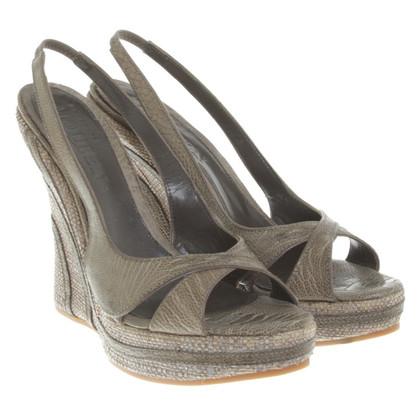 McQ Alexander McQueen sandales Wedge
