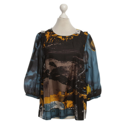See by Chloé Silk blouse with patterns
