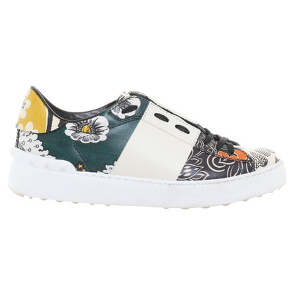 Valentino Sneakers with flower pattern