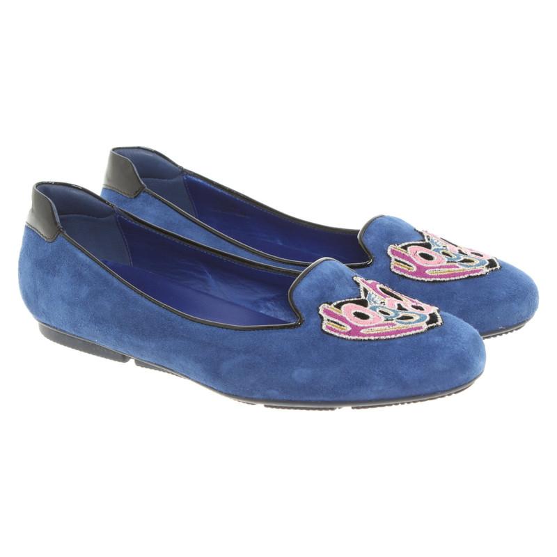 ballerine hogan blu