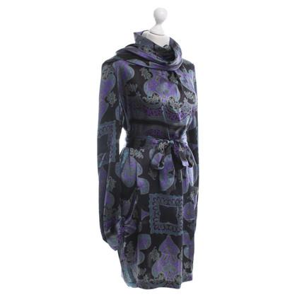Etro zijden jurk Paisley