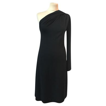 Jil Sander One Shoulder Jersey Dress