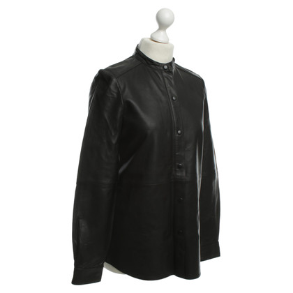 Closed Leather shirt in black