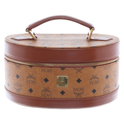 MCM Beauty case with Visetos-print