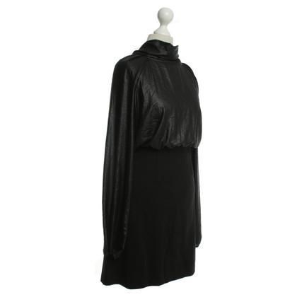 Patrizia Pepe Vestito nero con Schluppe