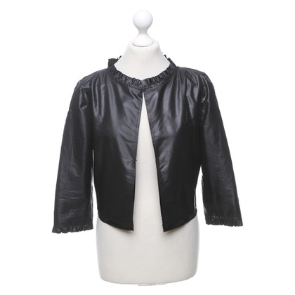 Marc Cain Lightweight short jacket in black