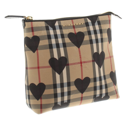 Burberry Cosmetic bag with Nova check pattern