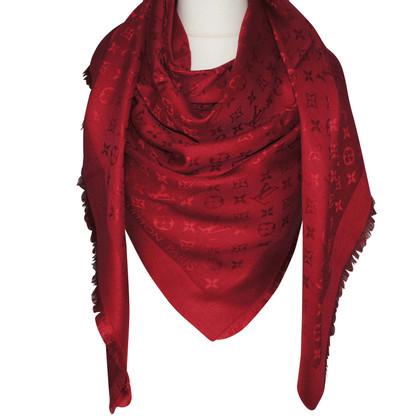 Louis Vuitton Monogram cloth in red
