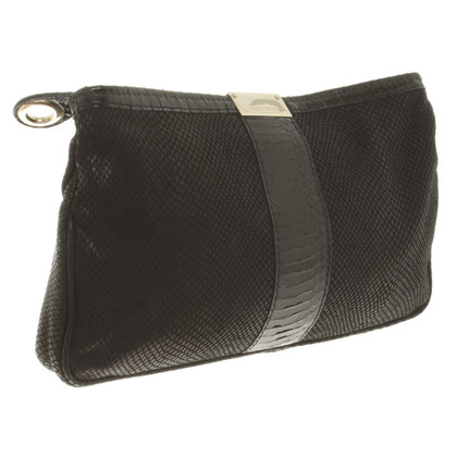 Jimmy Choo Schwarze Clutch