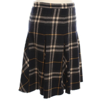 Burberry Rok met gecontroleerd patroon