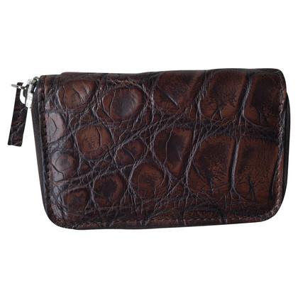 Gucci Purse made of crocodile leather
