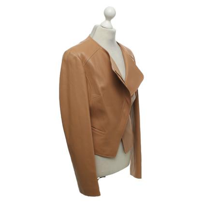 Michael Kors Leather jacket in beige