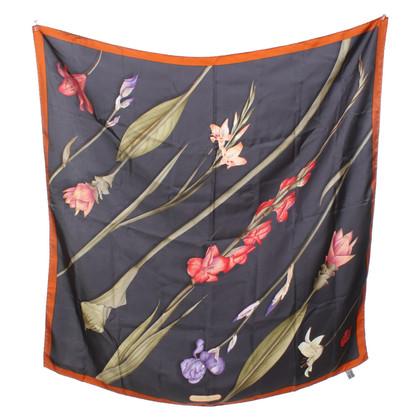 Salvatore Ferragamo Foulard en soie avec imprimé floral