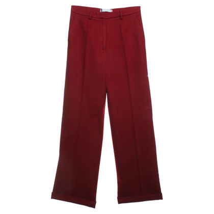 Max Mara trousers in red