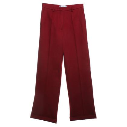 Max Mara Pantaloni a Red