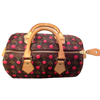 "Louis Vuitton ""Speedy 25 Monogram Cerises"""
