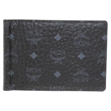 MCM Portemonnaie in Schwarz