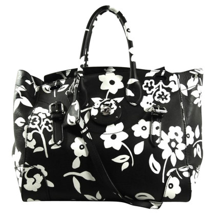 Ralph Lauren Handbag with a floral pattern