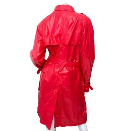 Moncler Impermeabile rosso