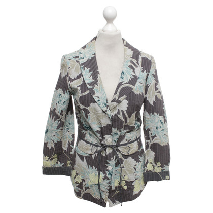 Noa Noa Blazer with a floral pattern
