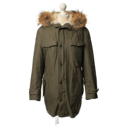 Barbed Real fur parka