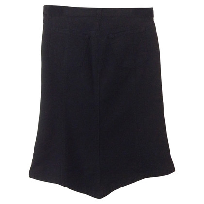Iceberg Denim skirt in black