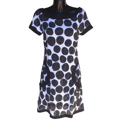 Mariella Burani Dress in black and white