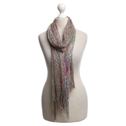 Missoni Scarf with zig-zag pattern