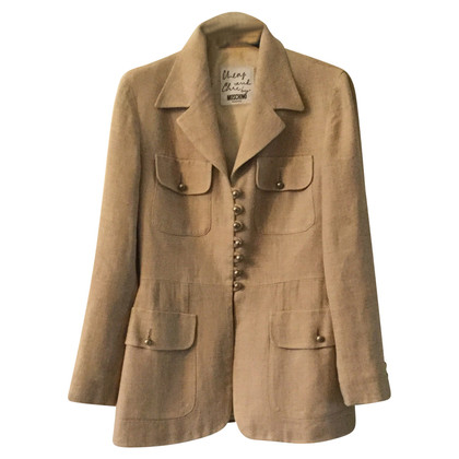 Moschino Cheap and Chic Leinenjacke