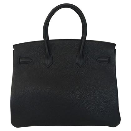 Hermès Birkin 35 Clemence palladio noir