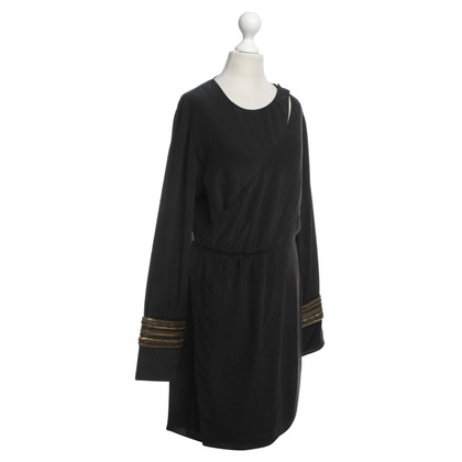 Balmain Wrap silk dress