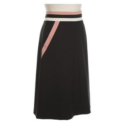 Red Valentino skirt in tricolor