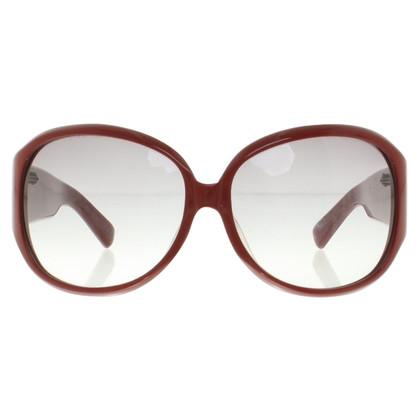 Yves Saint Laurent Bordeauxfarbene Sonnenbrille