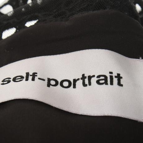 in Self Schwarz Self Portrait Portrait Schwarz Kleid xYnI0qxfP