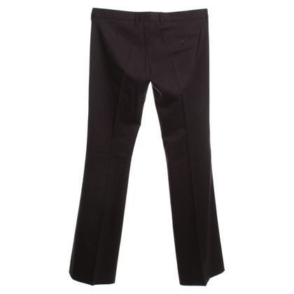 Miu Miu Wool pants in Eggplant