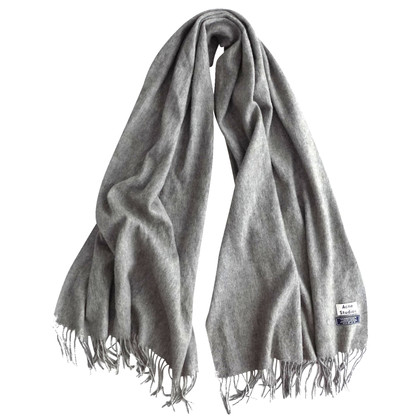 Acne Large wool scarf