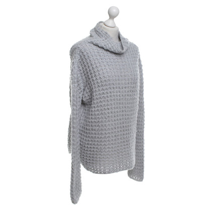 Armani Collezioni pull à col roulé en gris