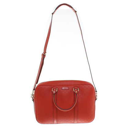 Gucci Aktentasche in Rot