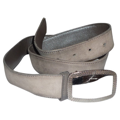 Prada BROWN SUEDE BELT BY PRADA