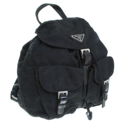 Prada Kleiner Rucksack aus Nylon