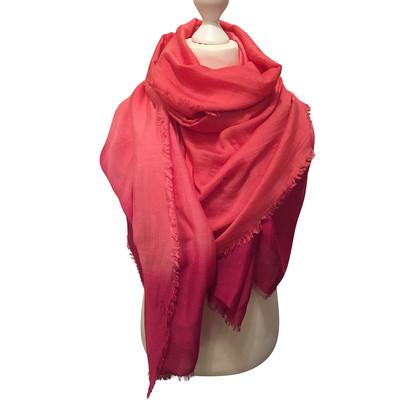 Maje XL silk cloth with gradient